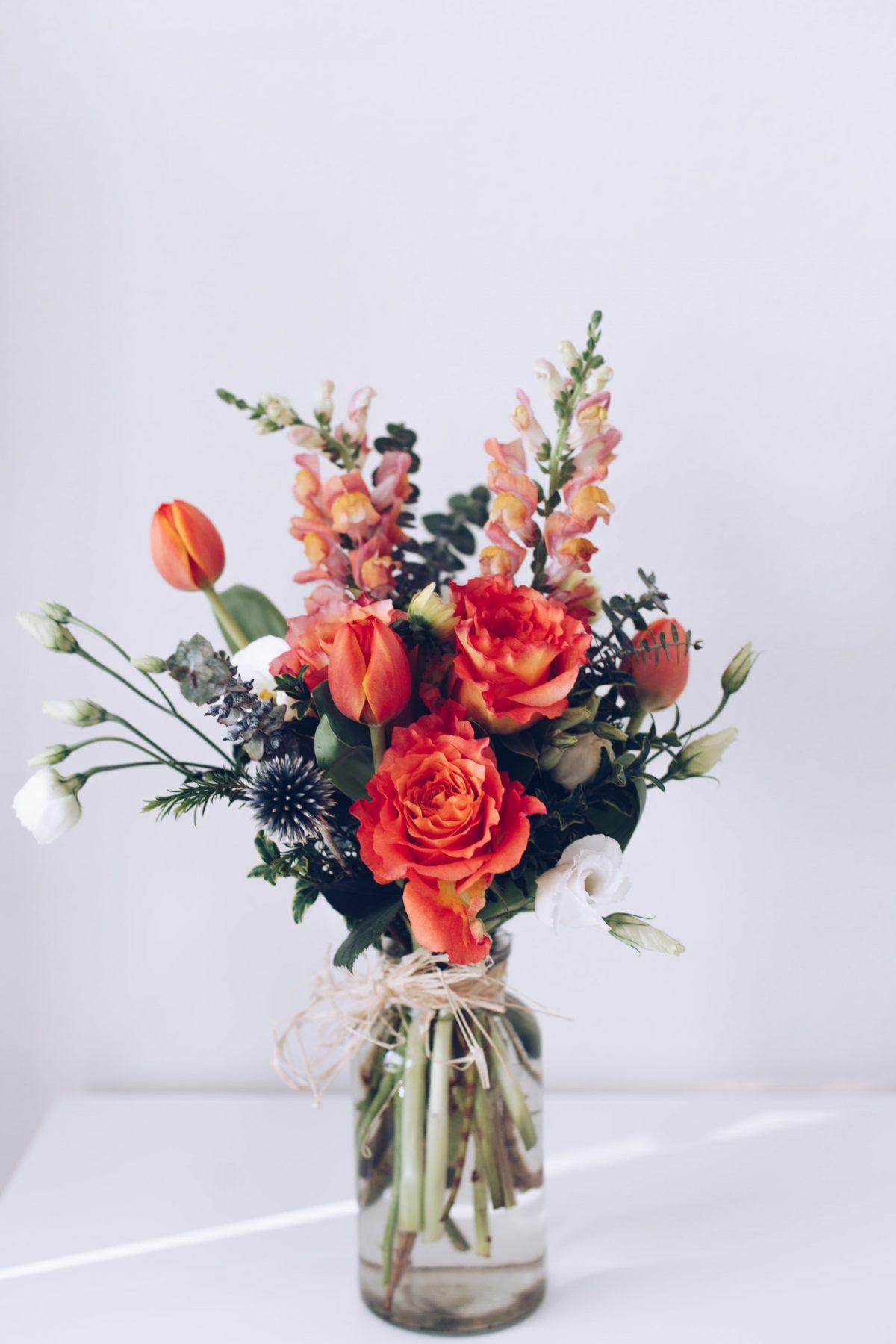 Plant blomster og bruk dem til innredning